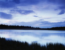 USA, Utah, View of clouds reflecting in lake at Dixie National Forest by Danita Delimont