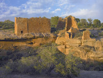 Sunset at Hovenweep Castle, Hovenweep National Monument at L... by Danita Delimont