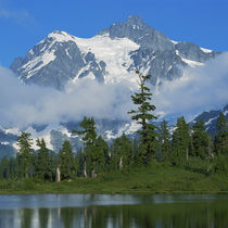 USA, Washington, North Cascades National Park, Mt by Danita Delimont