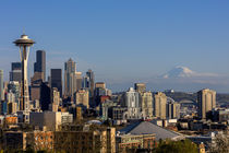 City skyline from Kerry Park in downtown Seattle, Washington... by Danita Delimont