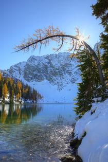 USA, Washington, Wenatchee National Forest, Blue Lake with g... by Danita Delimont