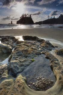 Sunset and beach von Danita Delimont