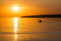 Lake Superior Sunset Paddle by Danita Delimont