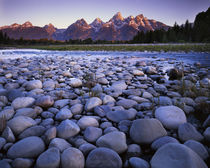 USA, Wyoming, Teton National Park, the Snake River, Teton Range von Danita Delimont