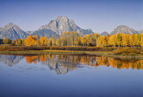 USA, Wyoming, Grand Teton National Park, Mount Moran from Ox... by Danita Delimont