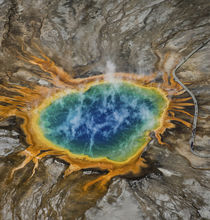 Grand Prismatic Spring - by Danita Delimont