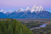 Dawn, Snake River Overlook, Grand Teton National Park, Wyoming, USA by Danita Delimont