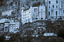Französische Mittelalterliche Burg in Rocamadour  von captainsilva