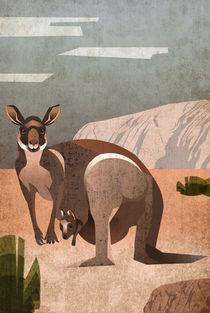 Känguru von Sabrina Ziegenhorn