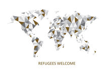 refugees welcome by Sabrina Ziegenhorn