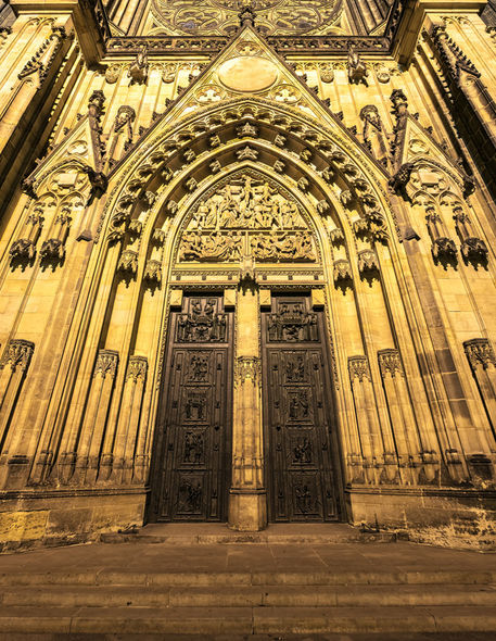 St-vitus-cathedral-doors-and-tympanum-prague-castle-prague-czech-republic