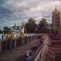 Norwich Market, U.K by Vincent J. Newman