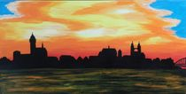 Wittenberg Skyline by Barbara Kaiser