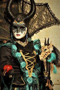 Karneval in Venedig - Maleficent von wandernd-photography