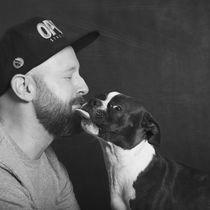love my dog / 2 von Heidi Bollich