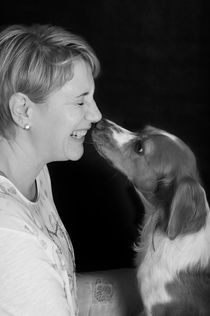 love my dog / 1 by Heidi Bollich