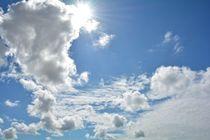 Himmlische Wolken von Claudia Evans
