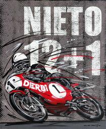 Angel Nieto Derby von Minocom Art Gallery