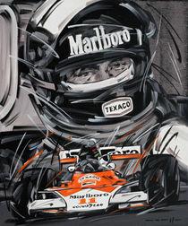 F1 James Hunt McLaren #11 by Minocom Art Gallery