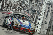 Porsche 911 RSR 1973 Martini von Minocom Art Gallery