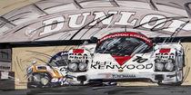 Porsche 956 C Le Mans by Minocom Art Gallery