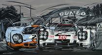 Porsche Le Mans 919 und 917 by Minocom Art Gallery