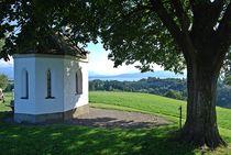 Münchner Jakobsweg: Kapelle über dem Bodensee... by loewenherz-artwork