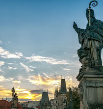 Charles Bridge, Prague, Czech Republic by Tomas Gregor