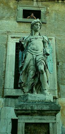 Rom - Castel Sant'Angelo - 2 Angels von Caro Rhombus van Ruit