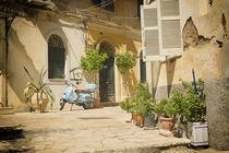Corfu Street Scooter  by Rob Hawkins