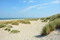 Dünenlandschaft an der Nordseeküste by Claudia Evans