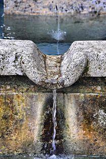 Brunnen in Murnau von Heinz Munk