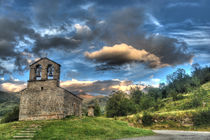 chapel in the mountain in Durro, Catalonia by Thomas Preibsch
