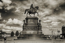 Reiterstandbild König Johann von Barbara Pfannstiel