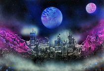 """"""" Space lab """" Spray Paint ART by Beate Brass von Beate Braß"""