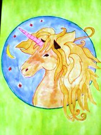 Mandala ''Unicorn'' by nellyart
