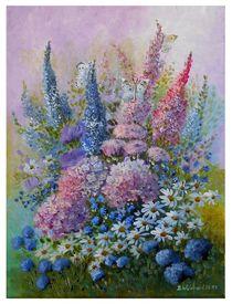 """""""Sommerblumen"""" by Dorothea  Weinhold"""