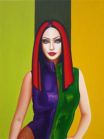 Danielle Harris by Vasiliy Zherebilo