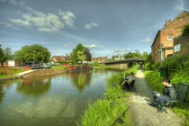 Hungerford Wharf Fishing  von Rob Hawkins