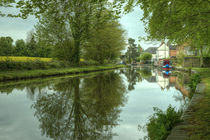 The Canal at Stoke Prior  by Rob Hawkins