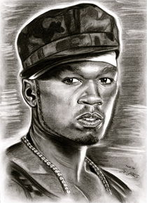 50 Cent In Black And White von gittag74