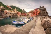 Vernazza, Italy by Zoltan Duray