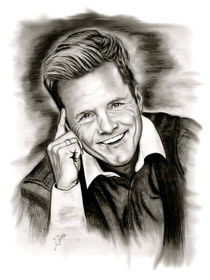 Dieter Bohlen In Black And White von gittag74