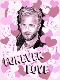 Gary Forever Love In Pink von gittag74
