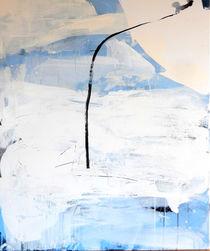 Freiraum 2 / hellblau abstrakt by Conny Wachsmann