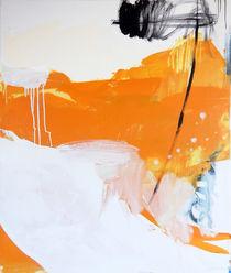 Freiraum 3 / gelb abstrakt von Conny Wachsmann
