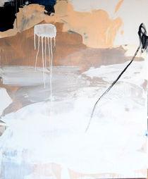 Freiraum 4 / weiß beige von Conny Wachsmann
