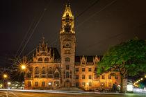 Altes Rathaus Saarbrücken von Bettina Dittmann