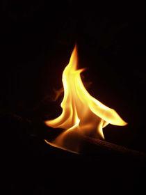 Feuerwesen - Fire Goblin by Ruth Klapproth