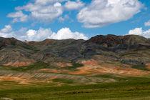 Ein Blick in die Wüste Gobi von Sven Gruse